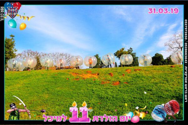 יום הולדת 11 למיכל 4